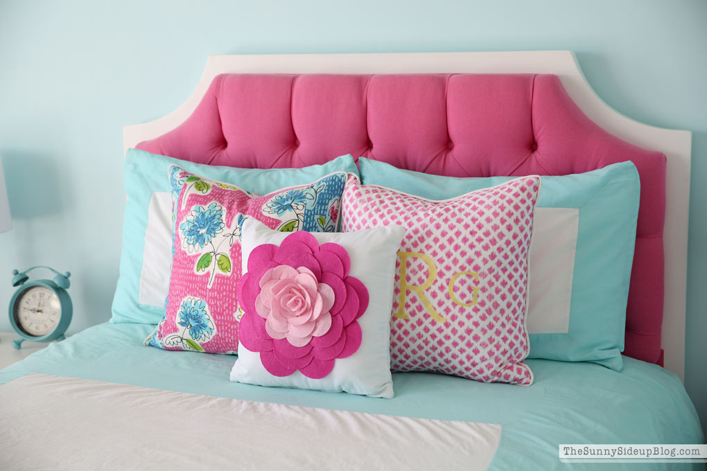 Custom Floral Pillows