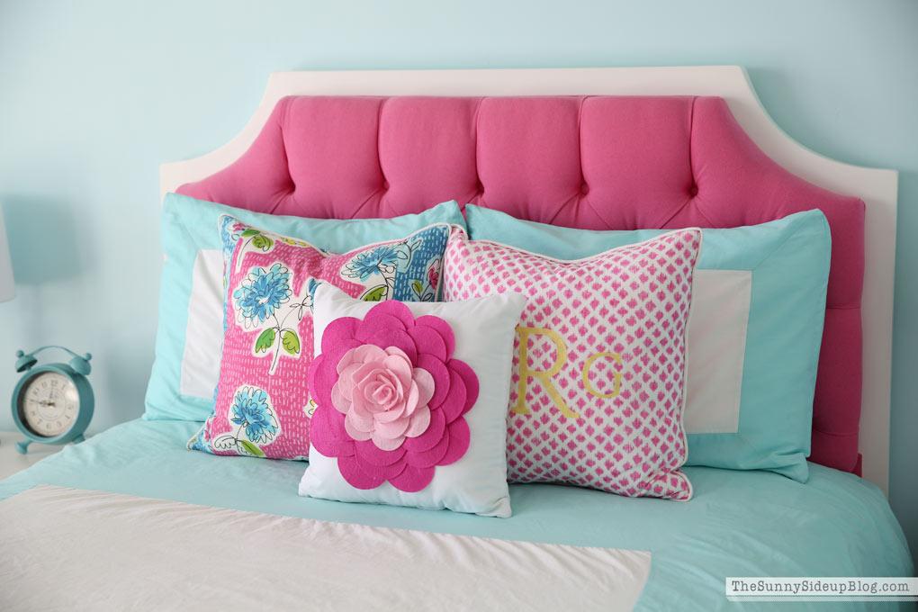 Custom Floral Pillows