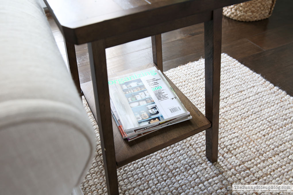 Pottery Barn Small Space Collection Decor Updates The Sunny - Pottery barn small coffee table