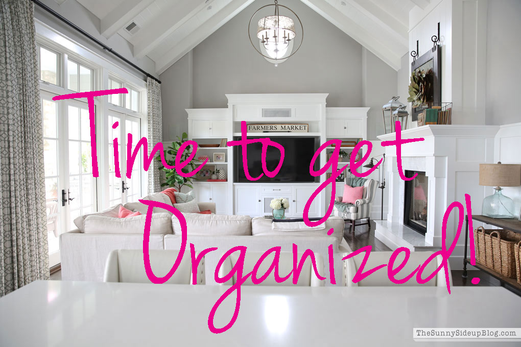How to organize EVERY space in your house!