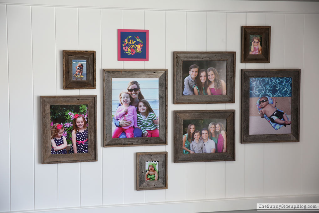 Creating A Coordinated Gallery Wall The Sunny Side Up Blog