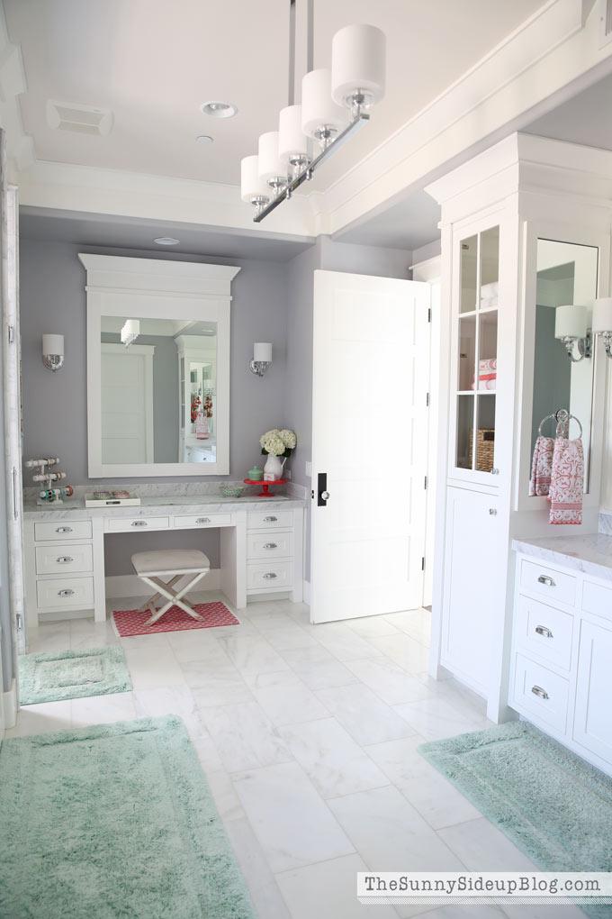 Organized Bathroom Drawers