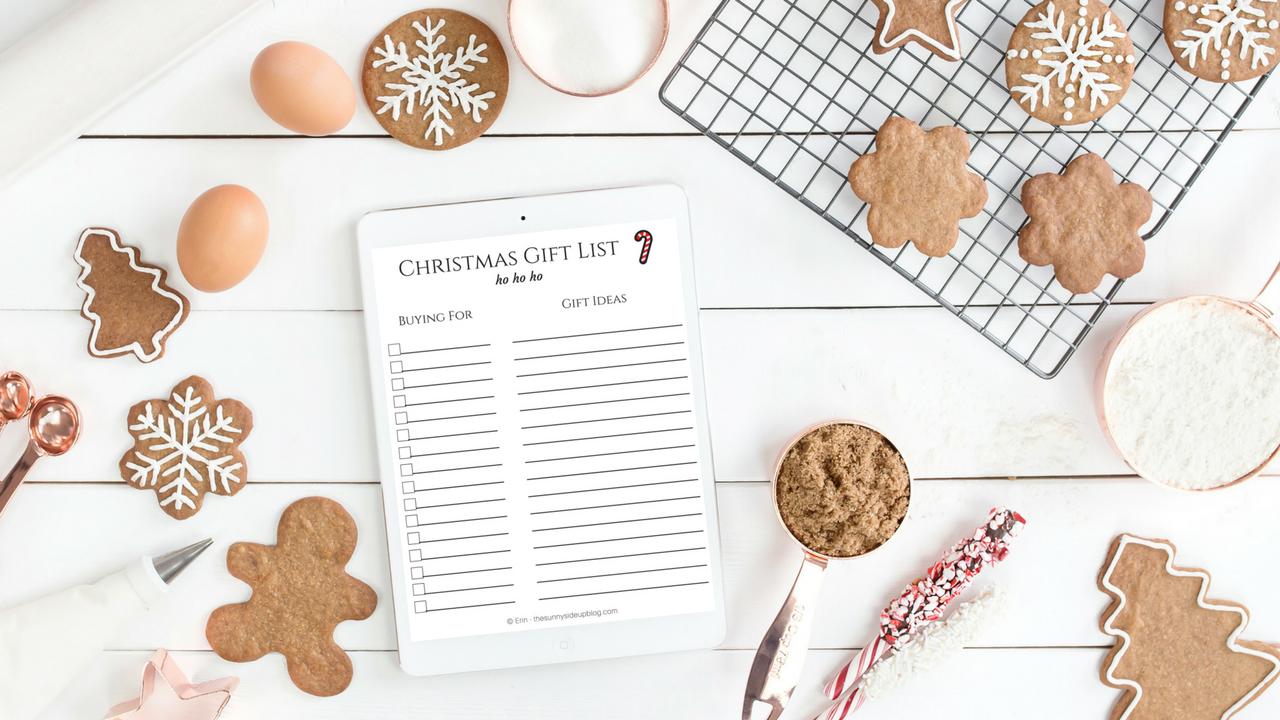 CHRISTMAS PRINTABLES FOR GIFT GIVING