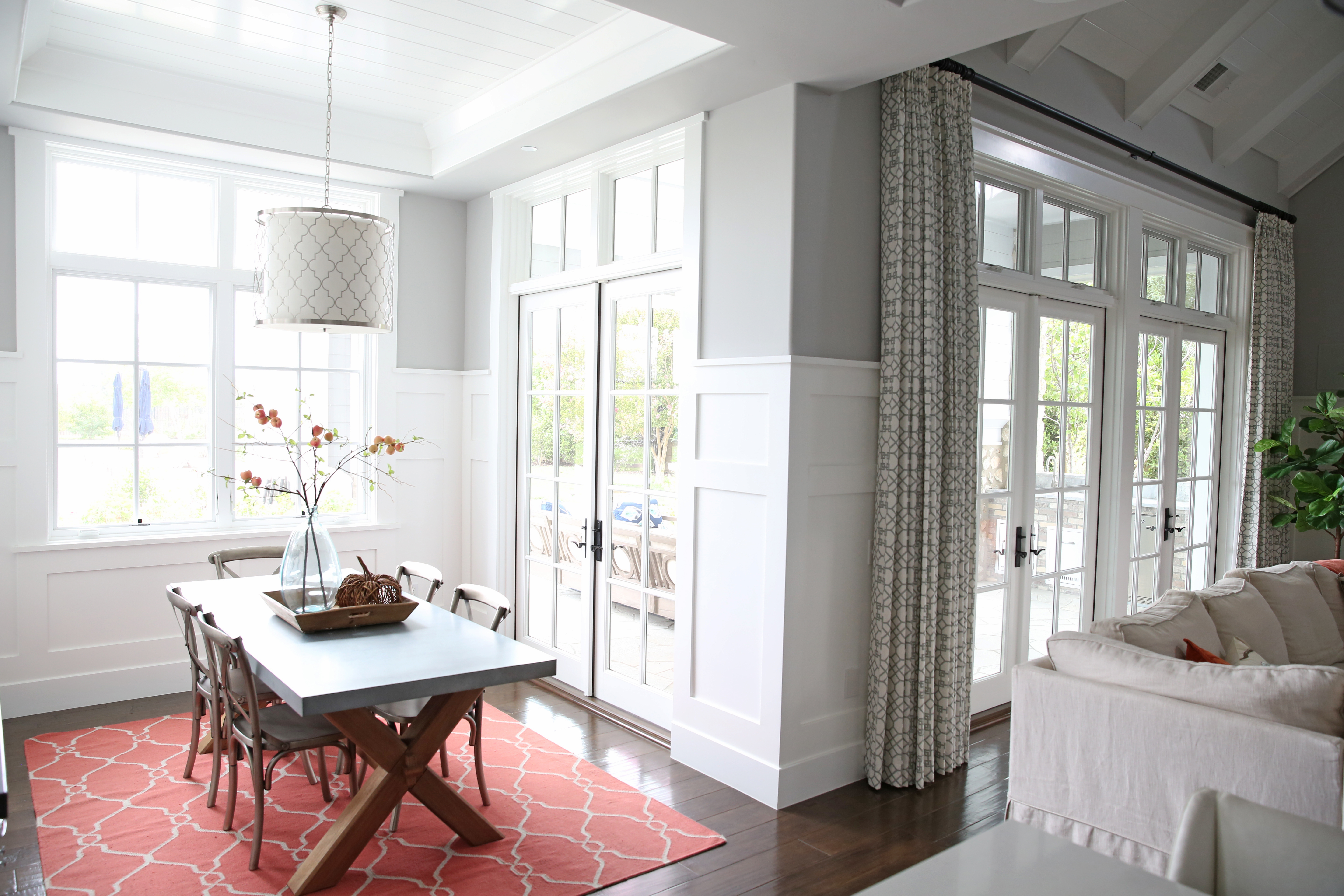 White french doors (Sunny Side Up)