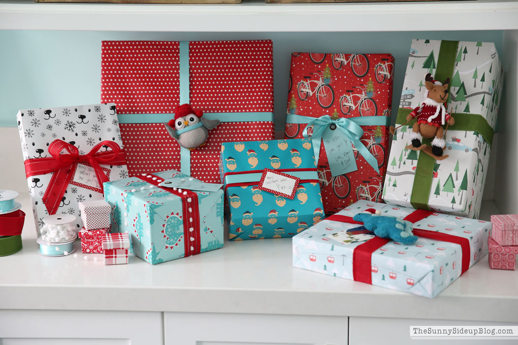 Container Store Wrapping Paper