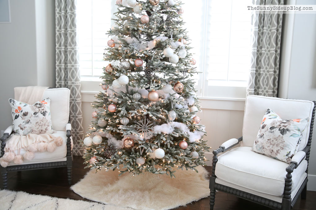 Frosted Christmas Tree – 12 Bloggers with Balsam Hill