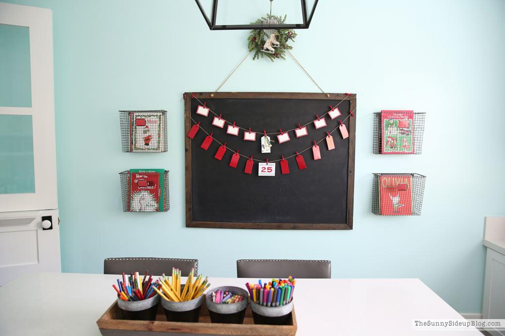 Chalkboard Office Decor