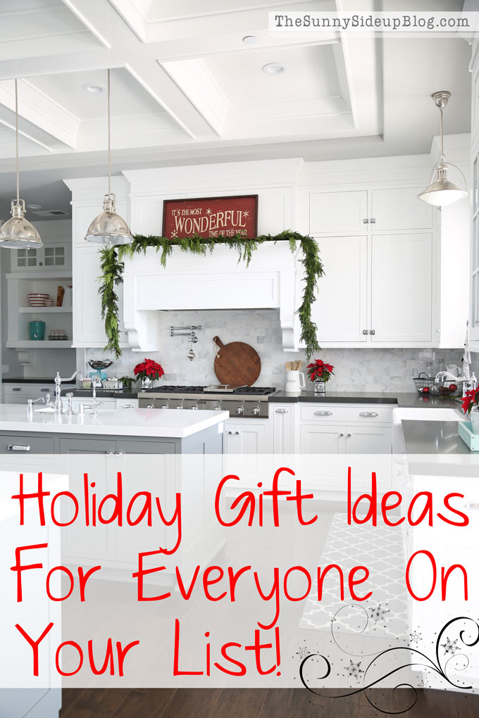 Holiday Gift Ideas for Everyone on Your List