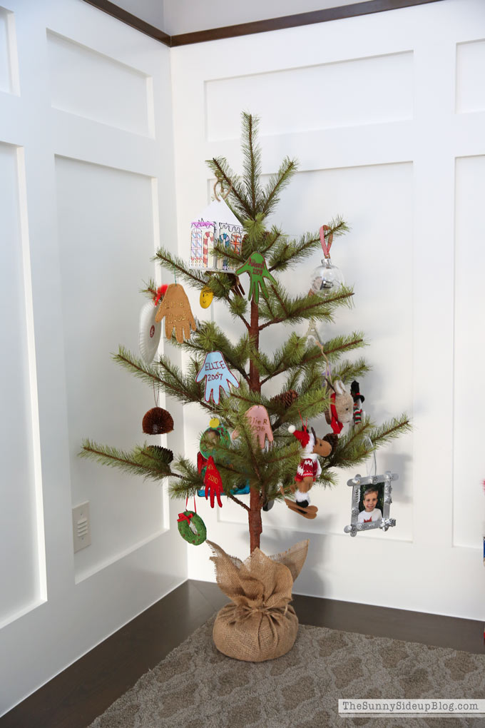 Childhood Ornament Tree