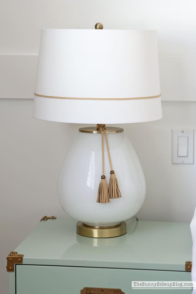 Tassel Lamp