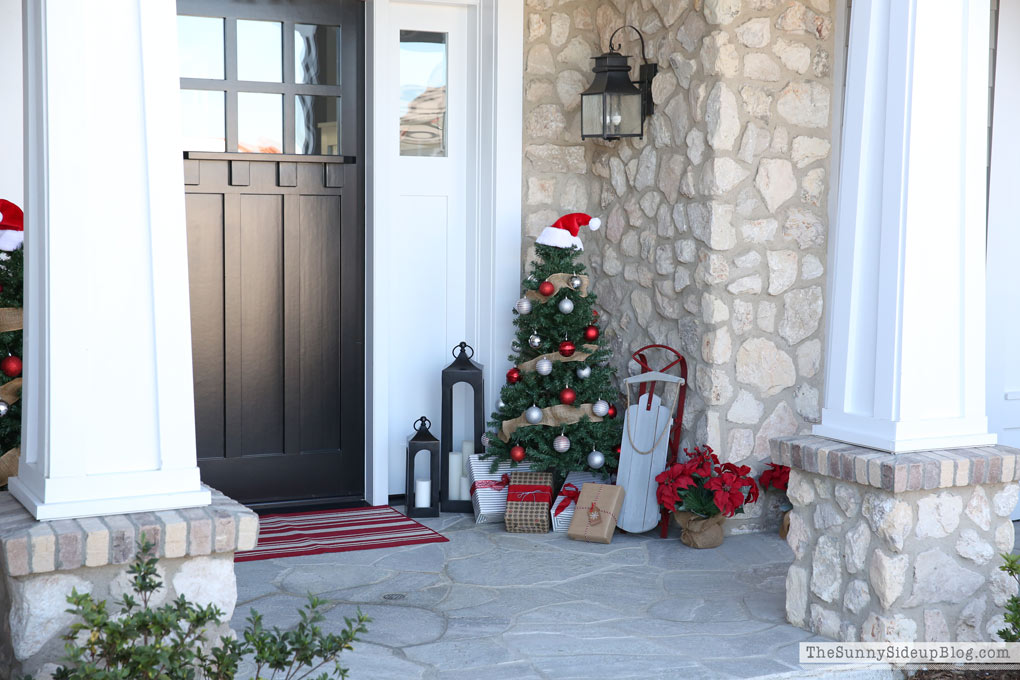 Christmas Porch (Sunny Side Up)