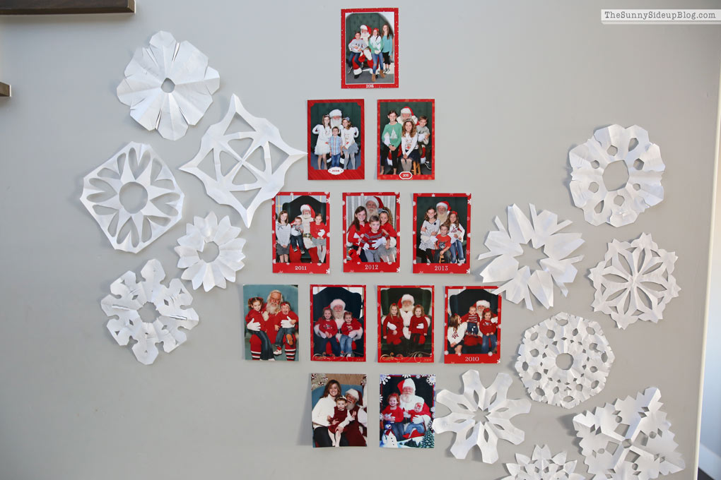 Santa Picture Display (Sunny Side Up)