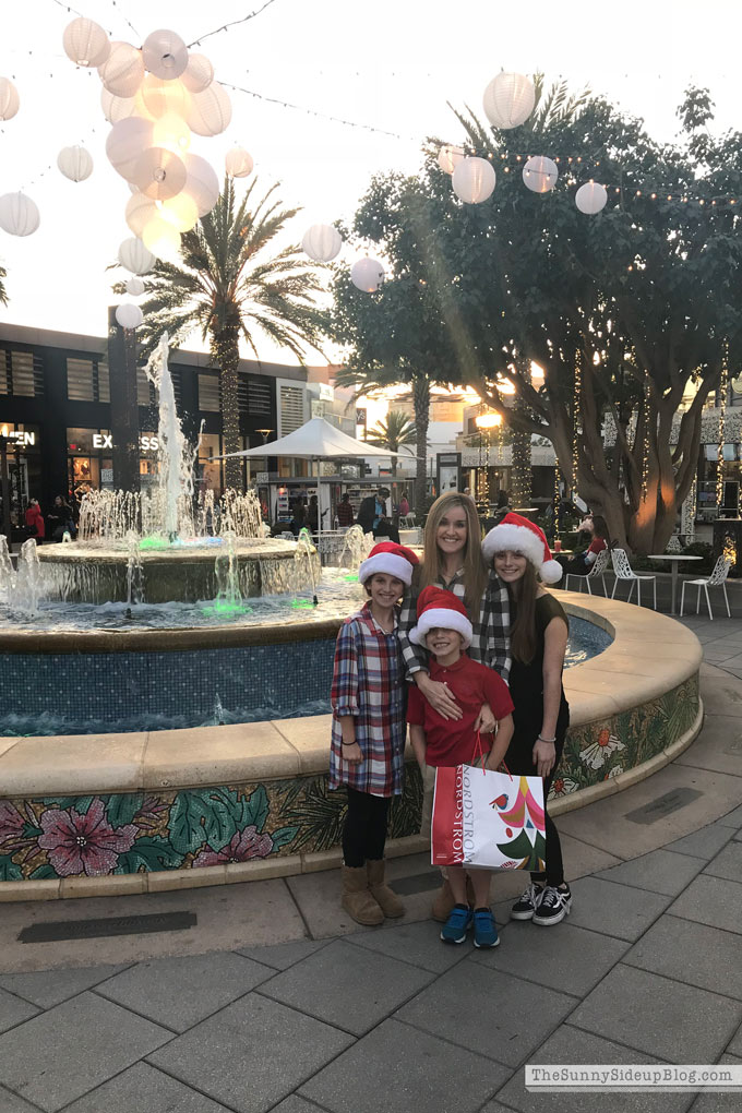 Utc Mall Christmas shopping (Sunny Side Up)