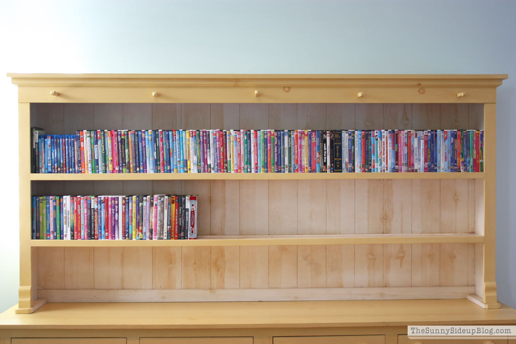 Organized DVD's (Sunny Side Up)