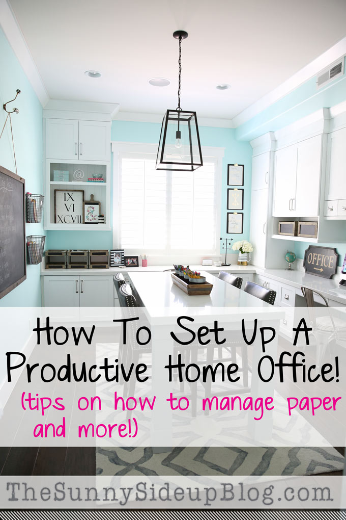 How to set up a productive Home office (Sunny Side Up)