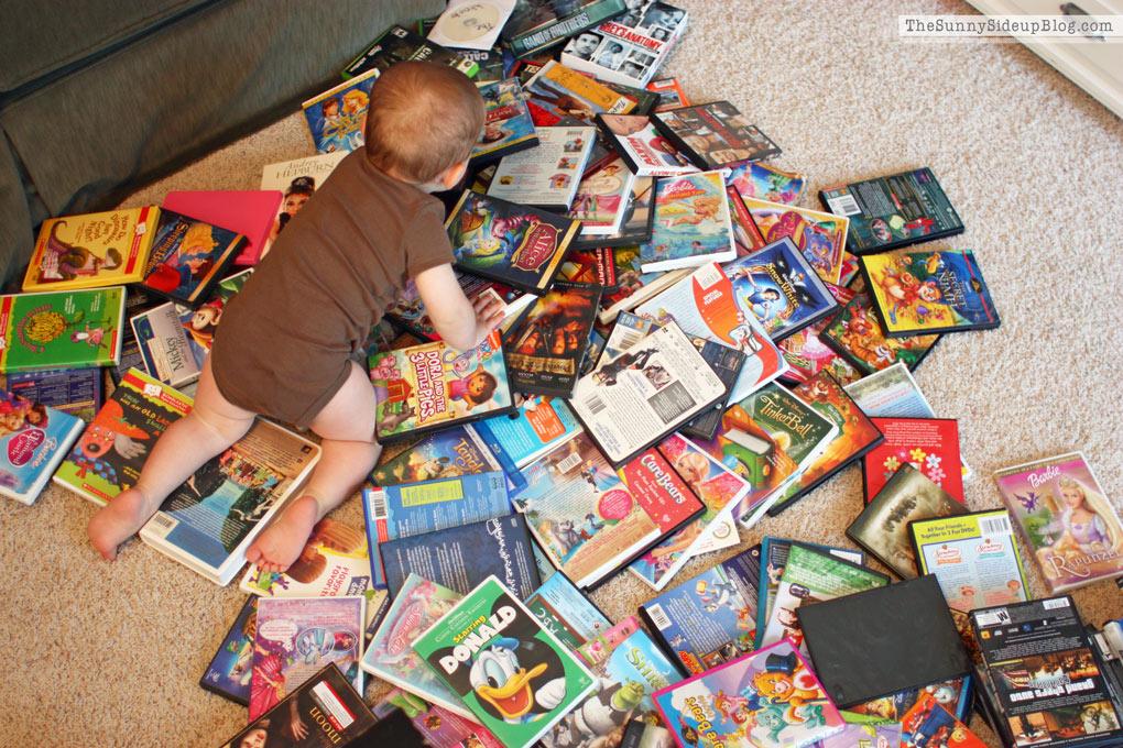 Organized DVD's