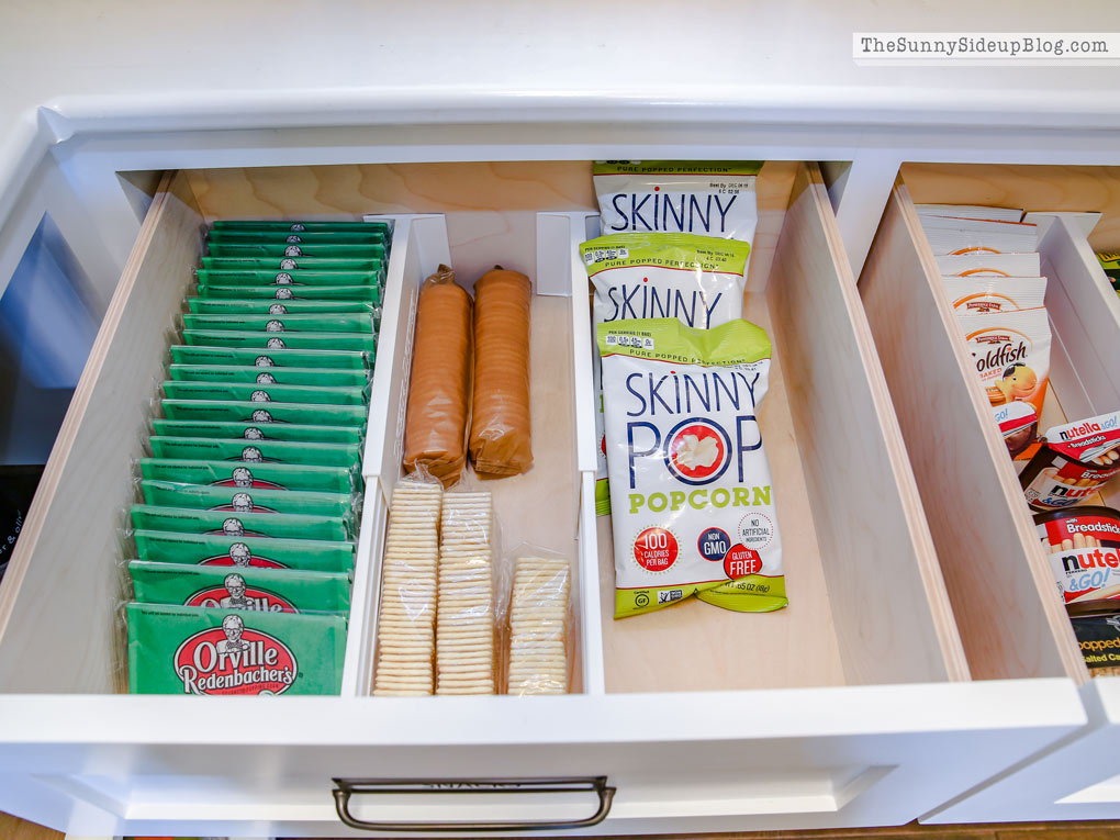Organized Pantry Drawers (Sunny Side Up)