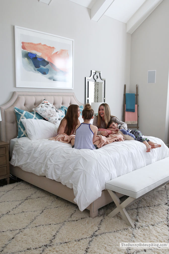 Why a King Bed is the Best Gift for your Family (Sunny Side Up)
