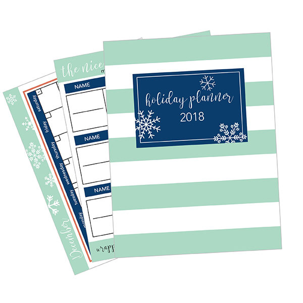 Holiday Planner 2018