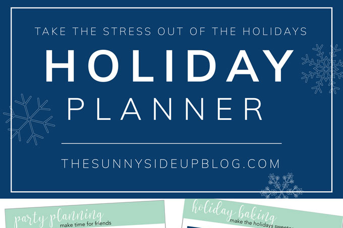 How to organize your holidays!