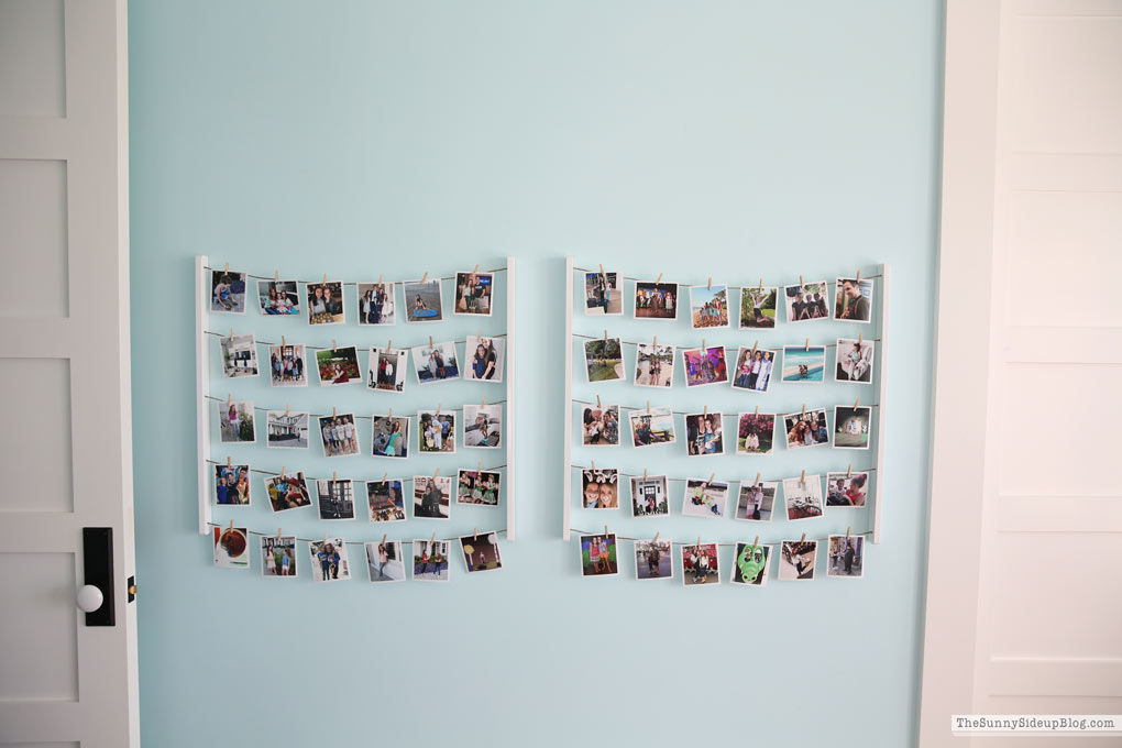 Kids' Bedroom Photo Display (Sunny Side Up)