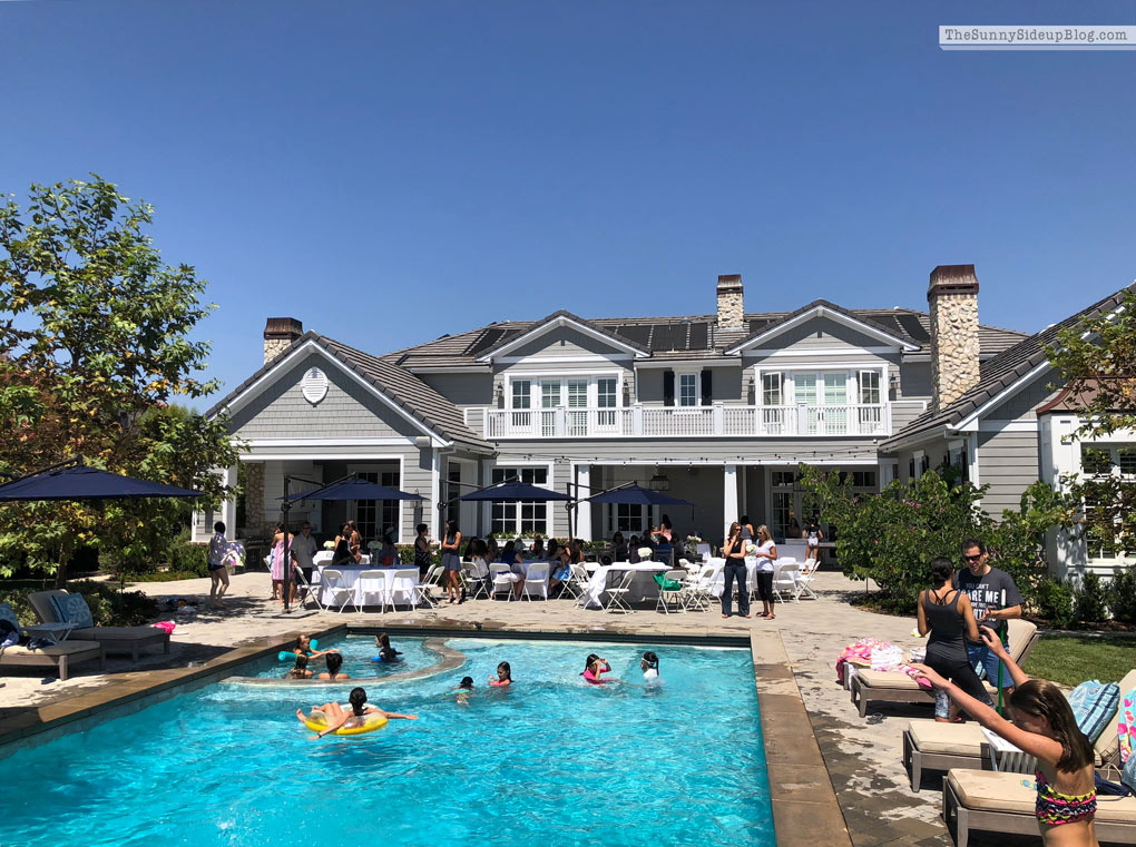 Pool Party and Labor Day Sales (Sunny Side Up)