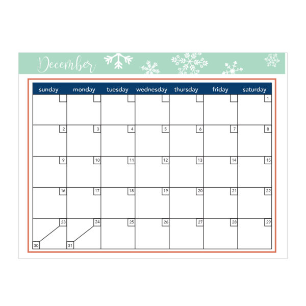 Holiday Planner - make the holidays less stressful! (Sunny Side Up)
