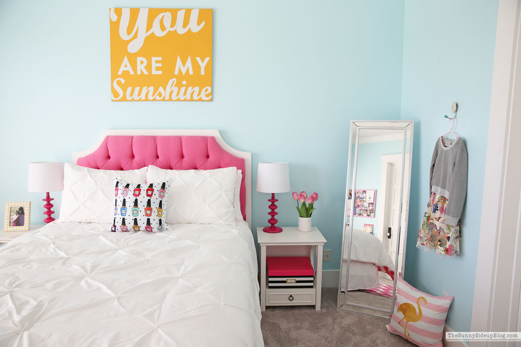 Girl's Bedroom Update