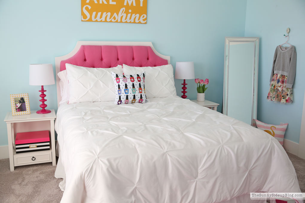 Girl's Bedroom Update (Sunny Side Up)