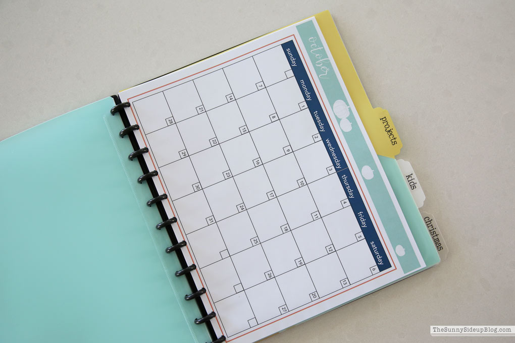 How I plan and use my holiday planner (Sunny Side Up)