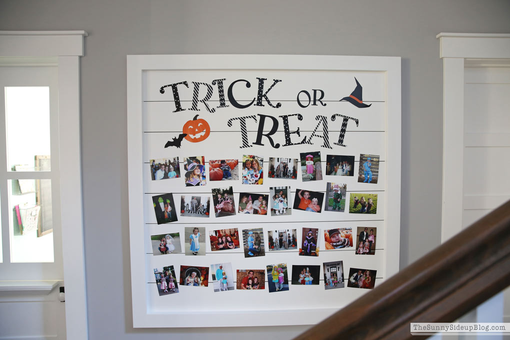 Trick or Treat Halloween Banner (Sunny Side Up)