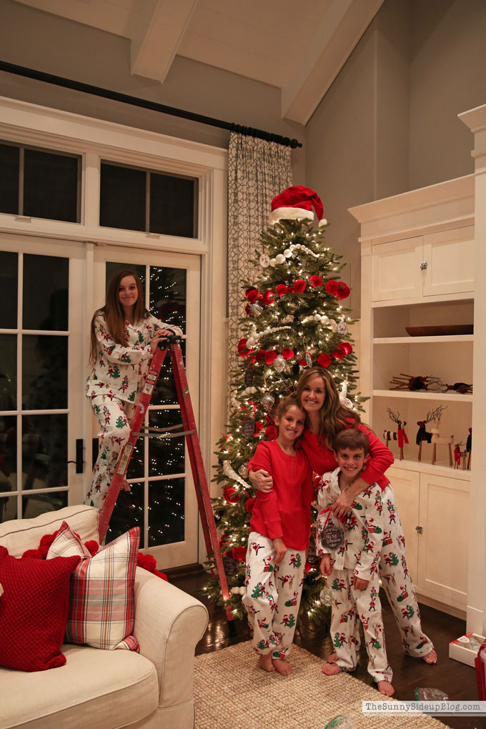 Decorating our Tree and fun Christmas PJ's! (Sunny Side Up)