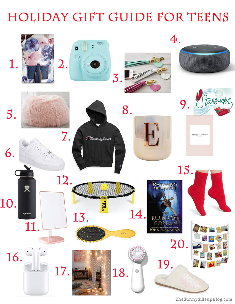 teen gift guide and a fun new sign the sunny side up blog teen gift guide and a fun new sign