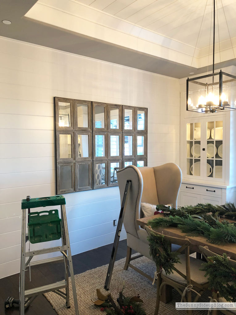 Shiplap Wall Dining Room Progress! (Sunny Side Up)