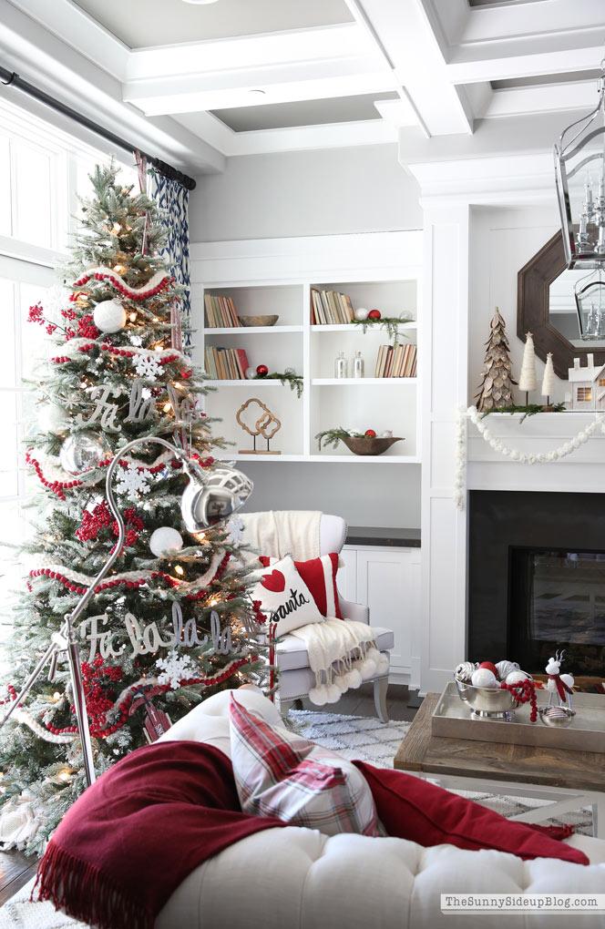 Christmas Mantel (Sunny Side Up)