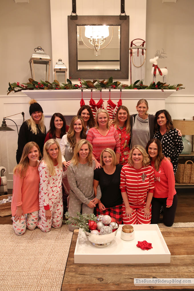 Christmas PJ Party (Sunny Side Up)