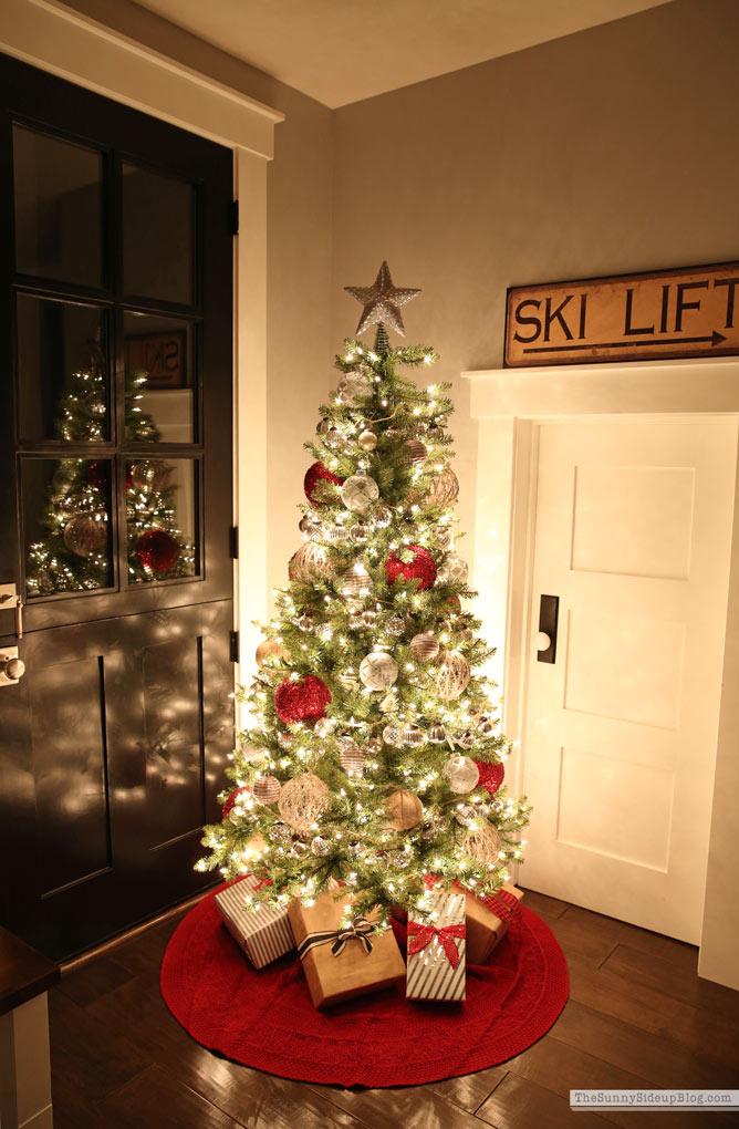 Mudroom tree and 12 Days of Deals! - The Sunny Side Up Blog