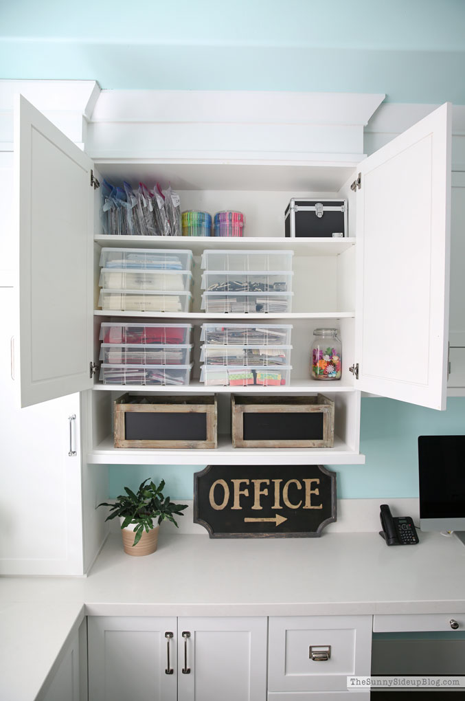 Organized Attic and Office (Sunny Side Up)