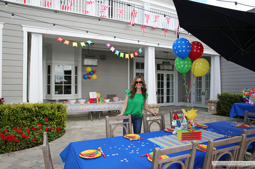Colorful Birthday Party (Kole turns 9!)