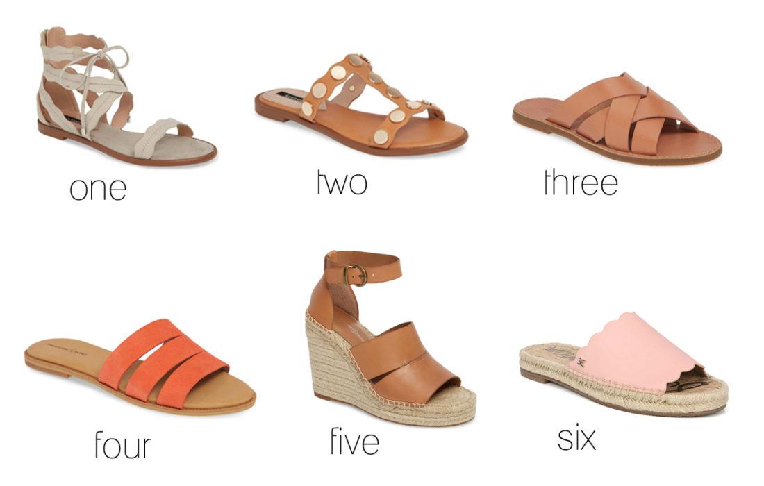 Favorite Sandals (9 under 90!)