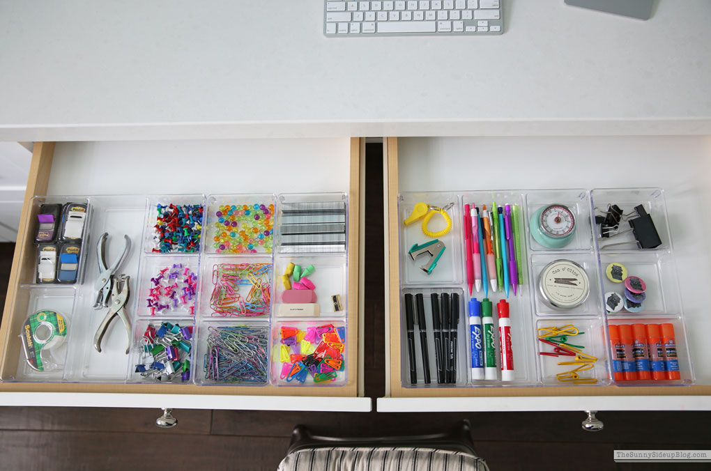 My Organized Office (Sunny Side Up)