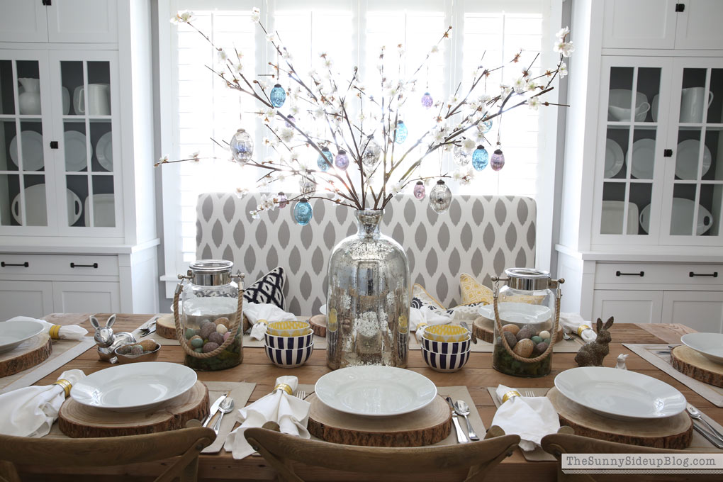 Easter Tablescape (Sunny Side Up)
