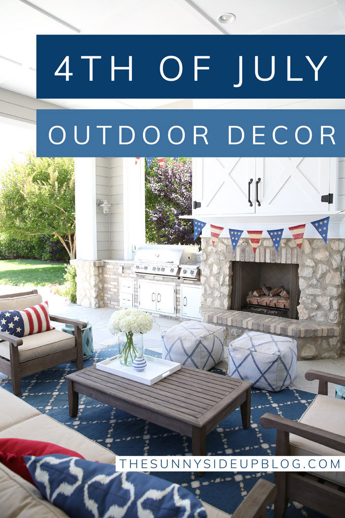 4th of July Outdoor Decor (Sunny Side Up)
