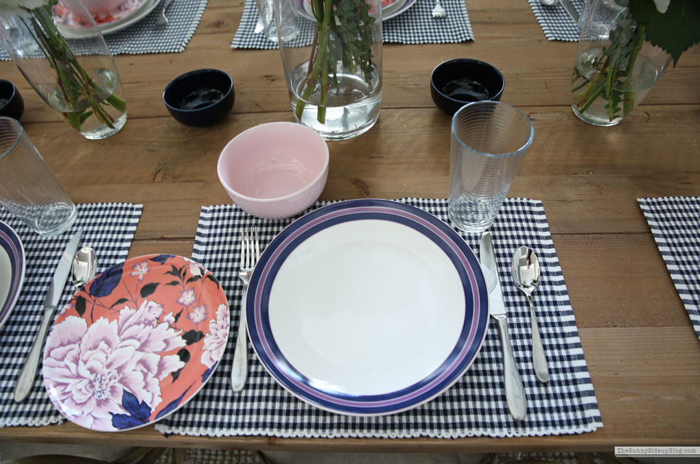 Spring/Summer Dining Tablescape (Sunny Side Up)