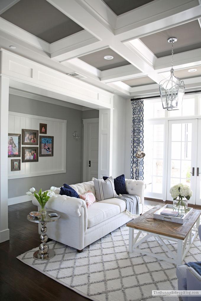 Summer Living Room Decor (Sunny Side Up)