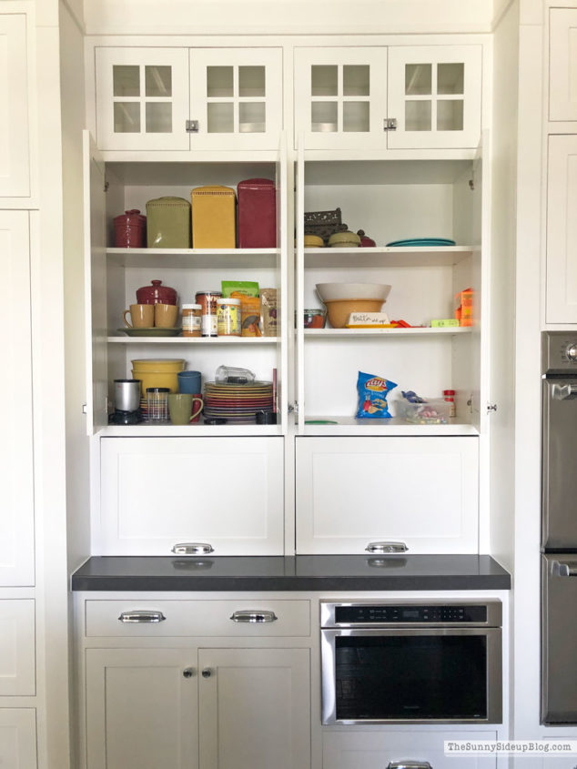 Organized Kitchen Cupboards (Sunny Side Up)