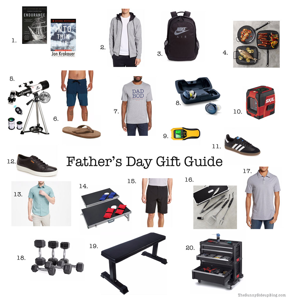 Father's Day Gift Guide (Sunny Side Up)