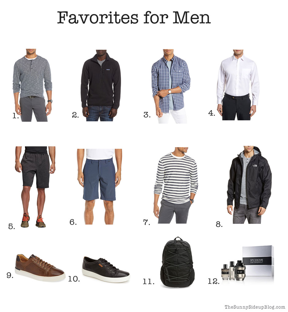 Favorite Fall Clothes for Men (Sunny Side Up)
