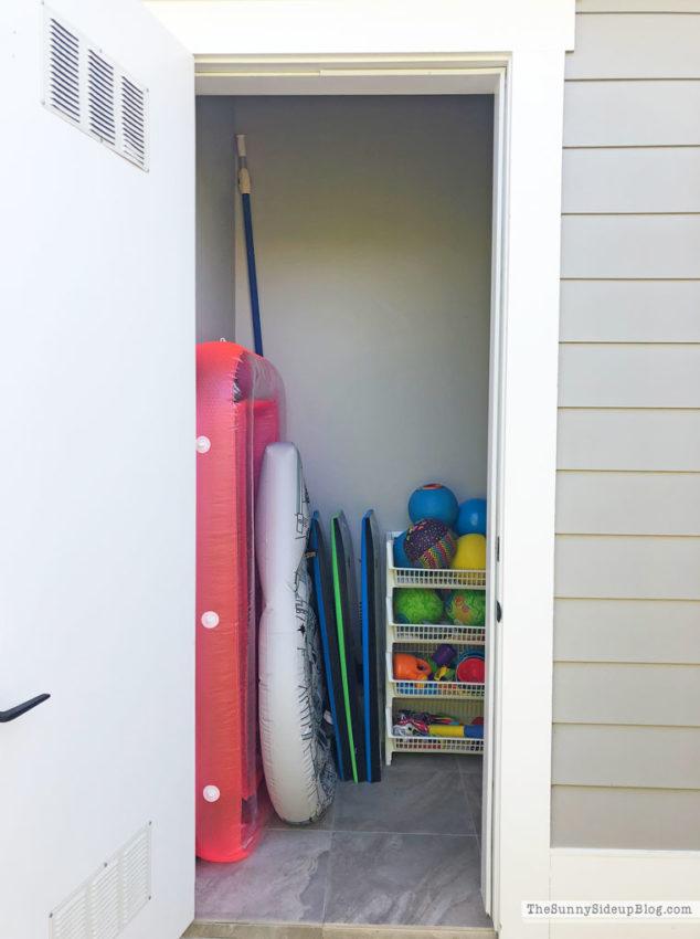 Organized Closet (Sunny Side Up)