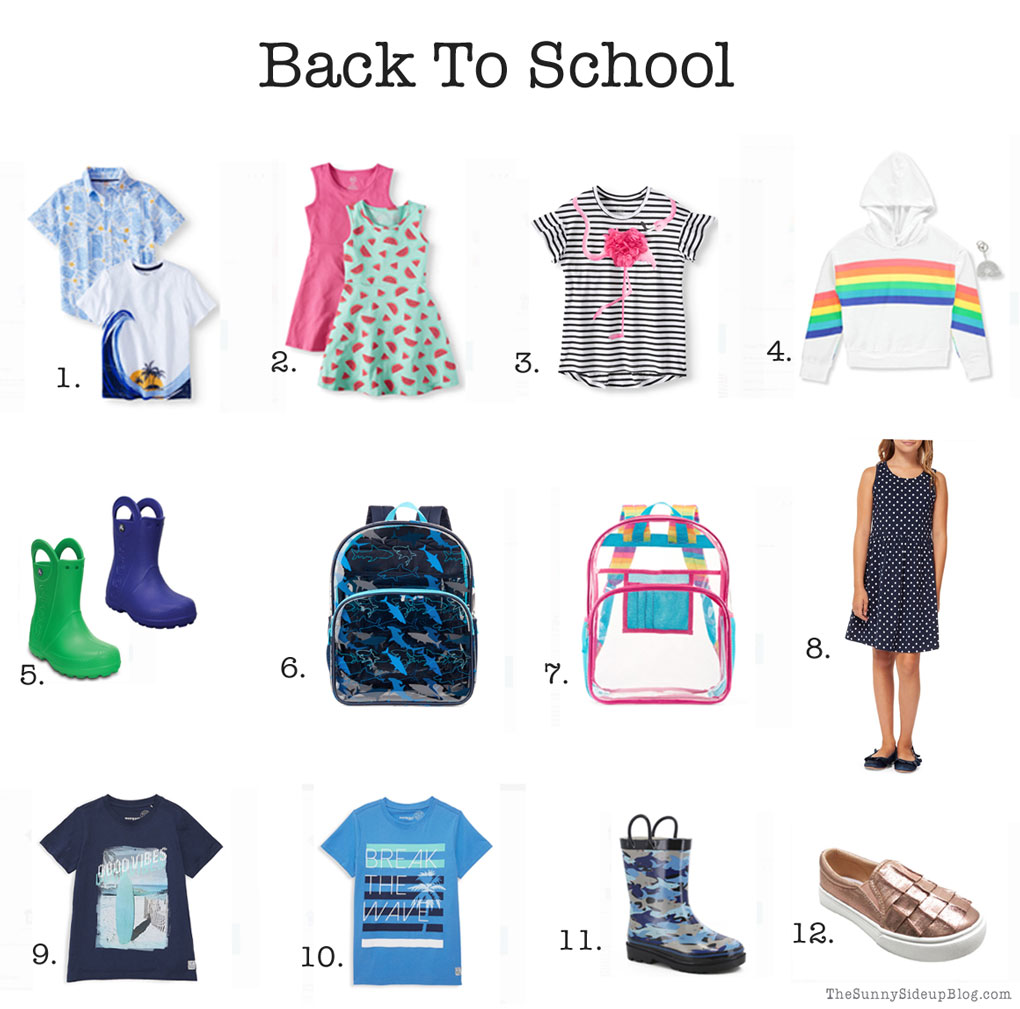 Back to school - time to get organized (Sunny Side Up)